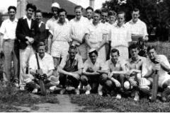 Keswick Players at Morgan's Memorial Oval 1948-49