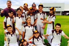 Keswick Juniors Team - First Win — at Immanuel College 2015
