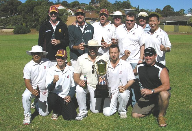 Keswick Cricket Club 2006-07 D Grade Section 6 Premiership Photo