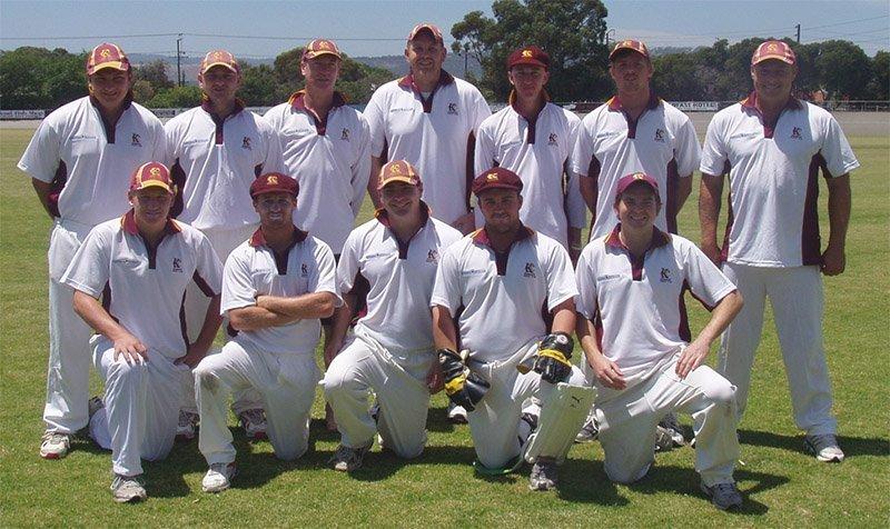 keswick cricket club A grade team photo 2008