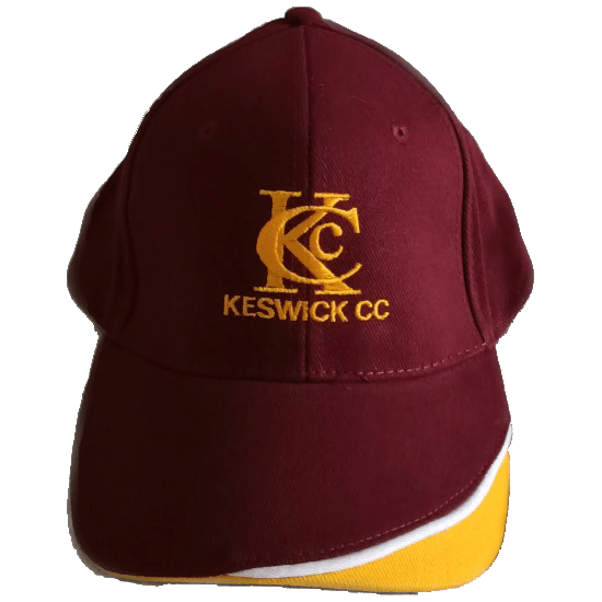 Keswick Cricket Club maroon cap